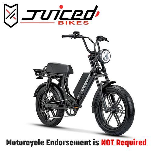 Scorpion Electric Moped-Style Bike